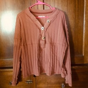 Free People In The Mix Long Sleeve Top